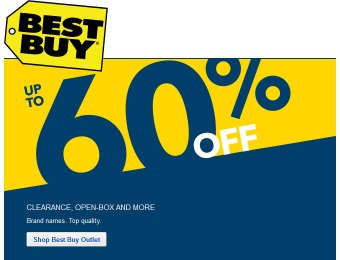 Save 60% off at Best Buy Open-Box, Clearance & More