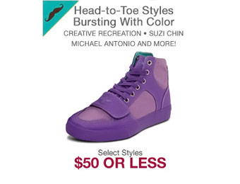 $50 or Less Top Brand Shoes & Apparel, Over 1200 Items