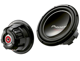 "69% off Pioneer TS-W309D2 12"" Dual-Voice-Coil 2-Ohm Subwoofer"