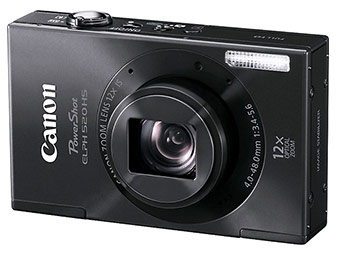 54% off Canon PowerShot ELPH 520 HS 10.1-MP Digital Camera