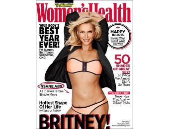90% off Women's Health Magazine Subscription, $4.99 / 10 Issues