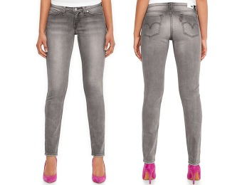 78% off Levi's Juniors' Demi-Curve Skinny Jeans, Sunset Grey