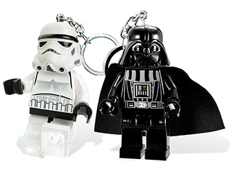 50% off LEGO Star Wars Light Key Chains