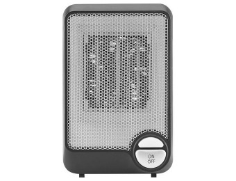 $9 off Insignia NS-HTMC01-B Desktop Ceramic Heater