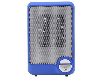 $9 off Insignia NS-HTMC01-BL Desktop Ceramic Heater