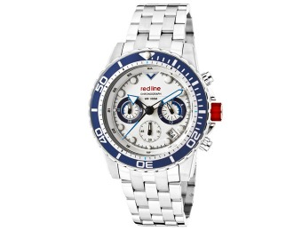 $790 off Red Line 50034-22-BL-BZ Piston Chronograph Men's Watch
