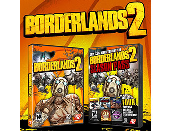 72% off Borderlands 2 & Season Pass (PC Download)