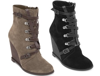 85% off BCBGeneration Kadear Wedge Booties + Free Gift
