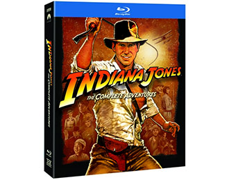 $30 off Indiana Jones: The Complete Adventures on Blu-ray
