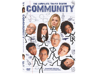 65% Off Community: The Complete Third Season (DVD)