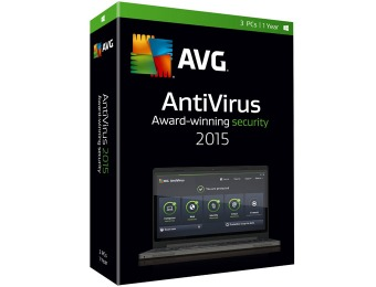 Free after Rebate: AVG AntiVirus 2015 - 3 PCs / 1 Year