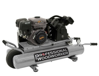41% off Professional Woodworker 6.5 HP Gas Powered Air Compressor