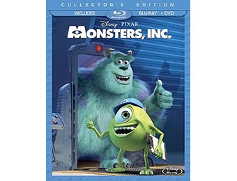 50% off Monsters Inc. Collector's Edition (Blu-ray + DVD)