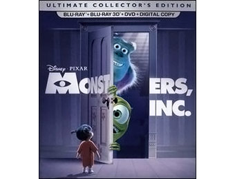 50% off Monsters Inc. Ultimate Collector's Edition (Blu-ray 3D)