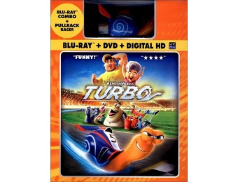 84% off Turbo (Blu-ray + DVD + Digital HD) + Toy Racer