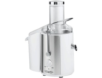 73% off BELLA 13454 Juice Extractor, White w/ Stainless Steel