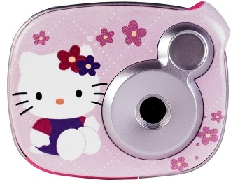 86% off Hello Kitty Pink Snap n' Share Digital Camera