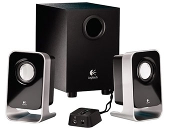 63% off Logitech LS21 7 Watts RMS (FTC) 2.1 Stereo Speaker System