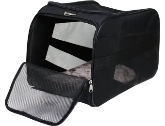 83% off dbest products Pet Smart Cart Carrier, Large, Black