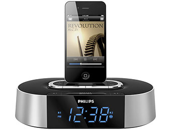 Extra $40 off Philips Alarm Clock Radio with iPhone/iPod Dock