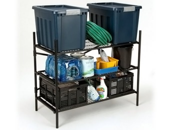$82 off Cosco Stackable 3-Shelf Folding Instant Storage Unit