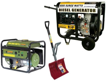 Up to 50% off Generators and Outdoor Tools at Home Depot
