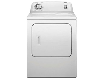 $100 off Admiral 6.5 cu. ft. Gas Dryer in White