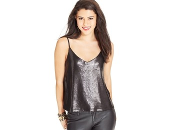 78% off Material Girl Juniors' Sequin Camisole