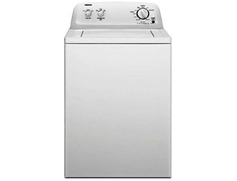 $100 off Admiral 3.4 cu. ft. Top Load Washer in White