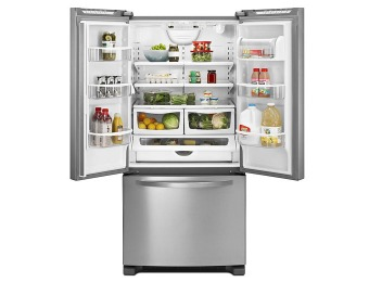48% off Kenmore Stainless Steel French-Door Refrigerator