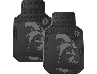 47% off Plasticolor Star Wars Darth Vader Floor Mat Set