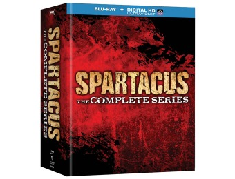 $101 off Spartacus: The Complete Collection (Blu-ray Boxed Set)