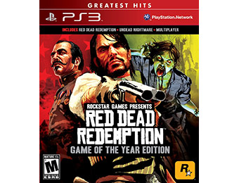 50% off Red Dead Redemption: Game of the Year Edition (PS3)