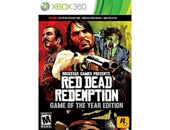 50% off Red Dead Redemption: Game of the Year Edition (Xbox 360)