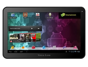 "$70 off Visual Land Prestige 10 Android 10"" Touchscreen Tablet"