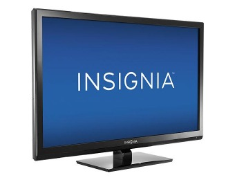 "36% off 24"" Insignia 24"" LED HDTV DVD Player Combo"