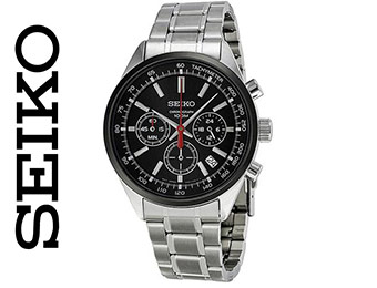 70% off Seiko SSB045 Men's Stainless Steel Chronograph Watch