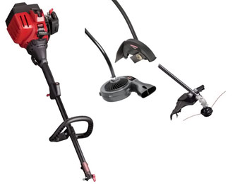 31% off Craftsman 3-in-1 Gas Trimmer Landscaping Kit