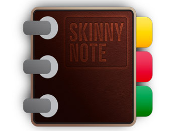Free SkinnyNote Notepad Notes Android App Download