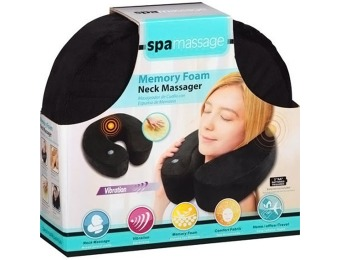 Extra 49% off Spa Massage Memory Foam Neck Massager
