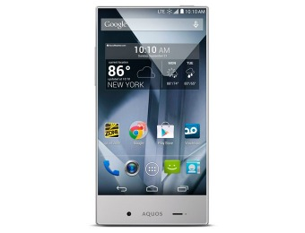 $50 off Boost Mobile Sharp Aquos Crystal SH306SHABB Cell Phone