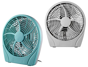 46% off Dynex Table Fan (4 color choices)
