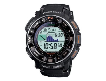 $147 off Casio Pro Trek PRW2500R-1CR Men's Solar Atomic Watch