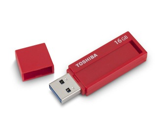 87% off 16GB Toshiba TransMemory ID PFU016B-1BLR 3.0 Flash Drive