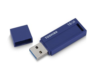 87% off 16GB Toshiba TransMemory ID PFU016B-1BLL 3.0 Flash Drive