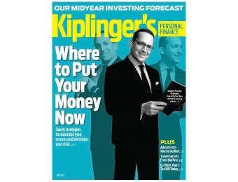 85% off Kiplinger's Personal Finance Magazine, 12 Issues / $6.99