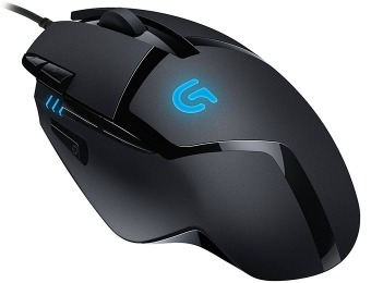 50% off Logitech G402 Hyperion Fury FPS Gaming Mouse