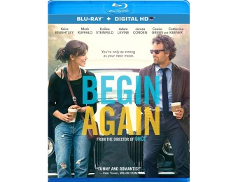 $17 off Begin Again Blu-ray