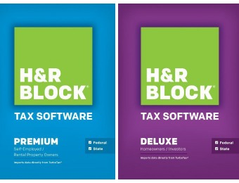 $20 off H&R Block Tax Software at Best Buy, 6 Versions on Sale
