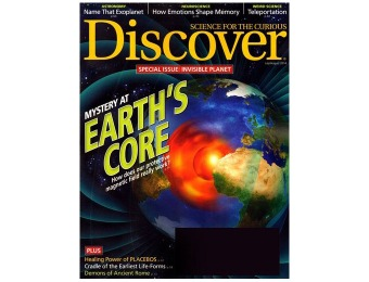 $44 off Discover Magazine Subscription, 10 Issues / $14.99